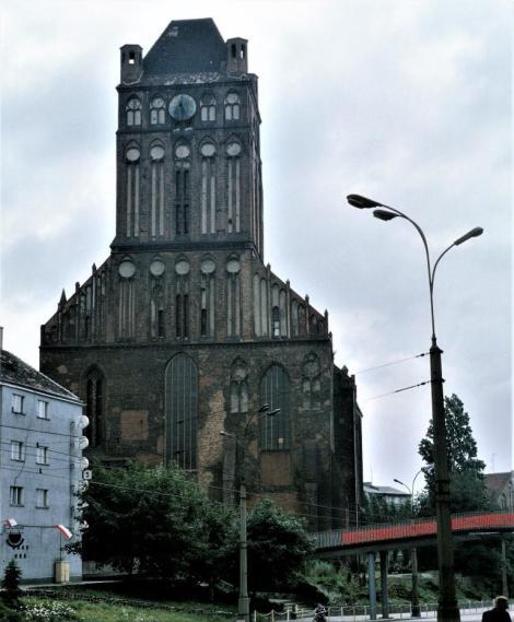 Jakobikirche in Stettin (1979)