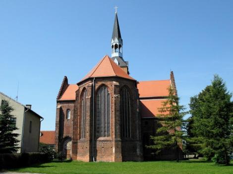 Kolbatz [poln. Kołbacz]: Kirche des Zisterzienserklosters (2012)