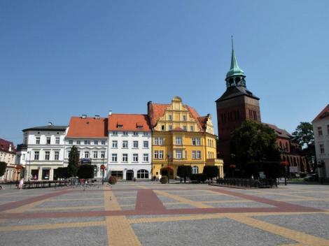 Belgard [poln. Białogard]: Marktplatz (2012)