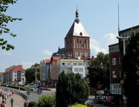 Köslin [poln. Koszalin]: Blick zur Marienkirche (2012)