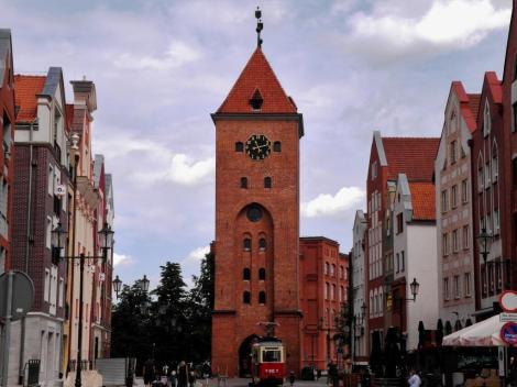 Elbing (poln. Elbląg): Markttor (2012)