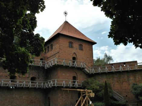 Frauenburg [poln. Frombork]: Domburg Kopernikusturm (2012)