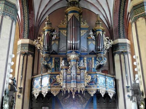 Frauenburg [poln. Frombork]: Dom - Orgel (2012)