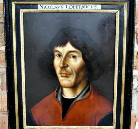 Frauenburg [poln. Frombork]: Kopernikus-Museum in der Domburg - Bildnis von Kopernikus (2012)