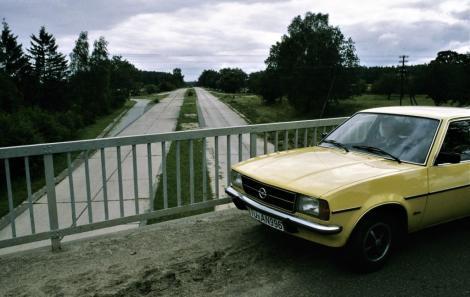 Ehemalige Autobahn Elbing-Königsberg (1979)