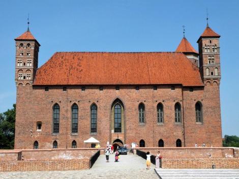 Heilsberg [poln. Lidzbark Warminski]: Residenzburg der ermländischen Bischöfe - Hauptburg (2012)