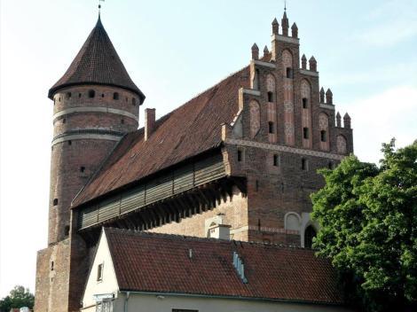 Allenstein [poln. Olsztyn]: Burg des ermländischen Domkapitels (2012)