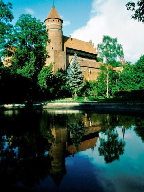 Allenstein [poln. Olsztyn]: Burg des ermländischen Domkapitels (1979)