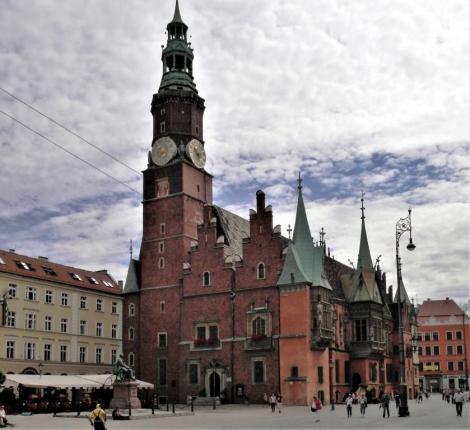 Rathaus: Westseite (2014)
