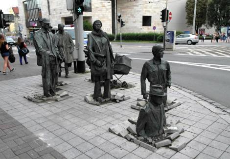 "Skulpturengruppe ""Übergang"" (2014)"
