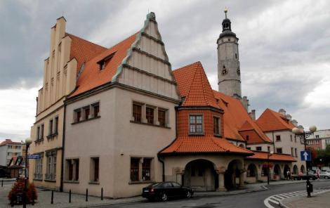 Löwenberg [poln. Lwówek Slaşki]: Rathaus (2014)