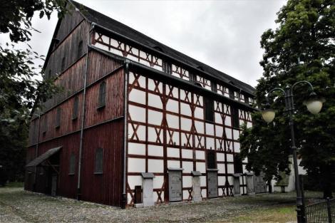 Jauer [poln. Jawor]: Friedenskirche [im Westfälischen Frieden für Schlesien genehmigte protestantische Kirche] (2014)