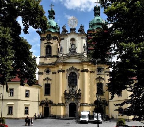 Wahlstatt [poln. Legnickie Pole]: Klosterkirche (2014)