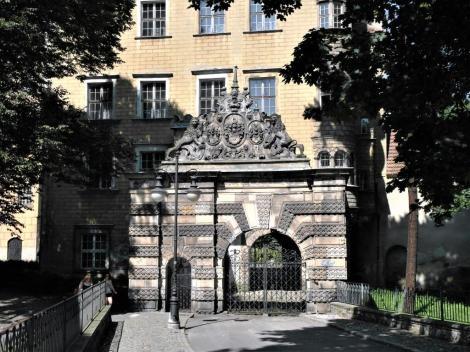 Oels [poln. Olesnica]: Schlossportal (2014)