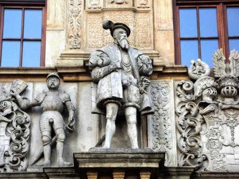 Brieg [poln. Brzeg]: Schlossportal (2014)