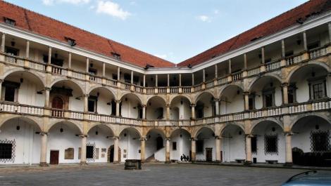 Brieg [poln. Brzeg]: Schloss - Innenhof (2014)