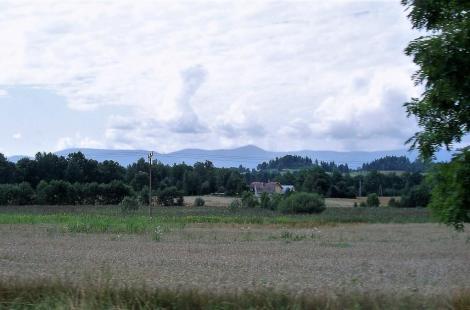 Blick zum Riesengebirge (2014)