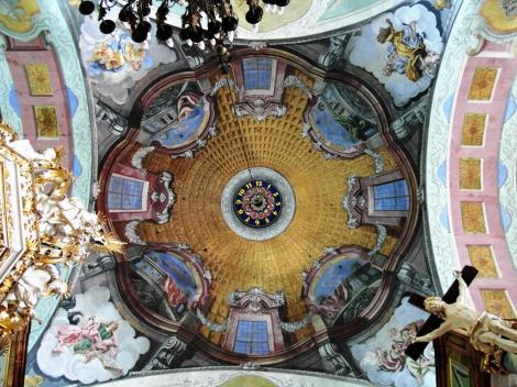 Hirschberg [poln. Jelenia Góra]: Gnadenkirche - Kuppel (2014)