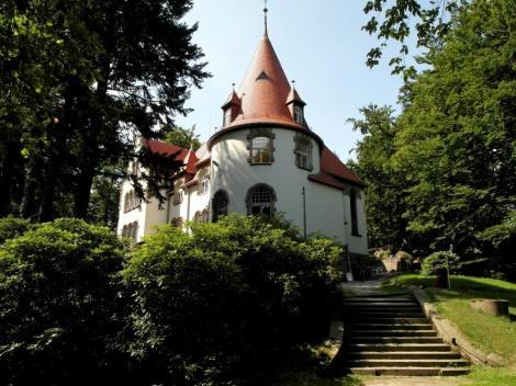 Agnetendorf [poln. Jagniątków]: Haus Wiesenstein - Wohnhaus von Gerhart Hauptmann (2014)