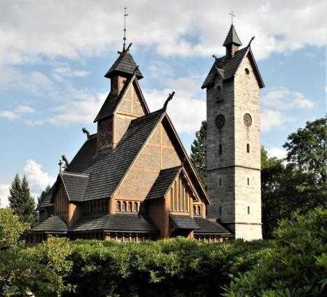 Krummhübel [poln. Karpacz]: Kirche Wang (2014)