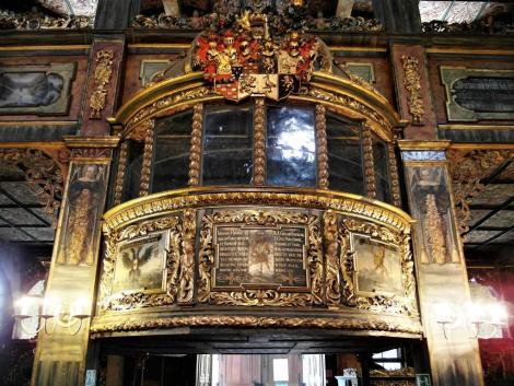 Schweidnitz [poln. Swidnica]: Friedenskirche - Loge der Familie Hochberg (2014)