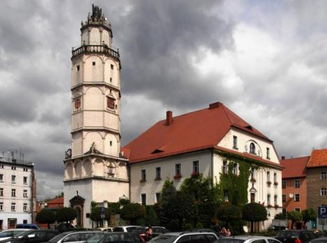 Patschkau [poln. Paczków]: Rathaus (2014)