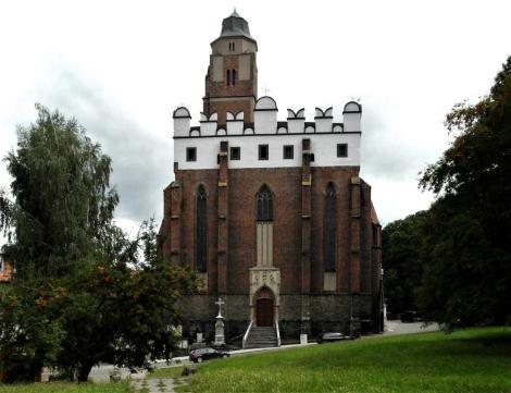 Patschkau [poln. Paczków]: Pfarrkirche (2014)