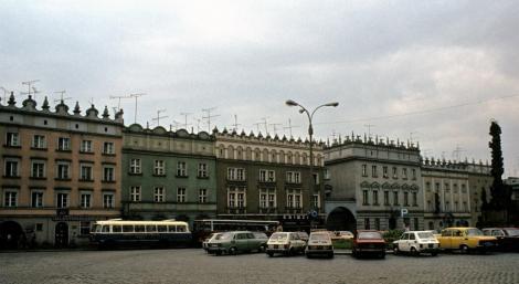 Ratibor [poln. Racibórz]: Häuser am Ring (1980)