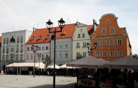 Gleiwitz [poln. Gliwice]: Häuser am Ring (2014)