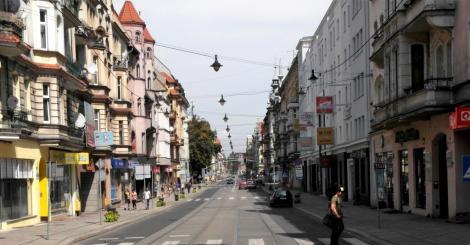 Gleiwitz [poln. Gliwice]: Wilhelmstraße [Ulica Zwycięstwa] (2014)