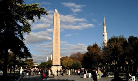 Hippodrom: Theodosius-Obelisk (2014)