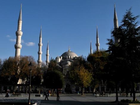 Hippodrom: Sultan Ahmed-Moschee [Blaue Moschee] (2014)