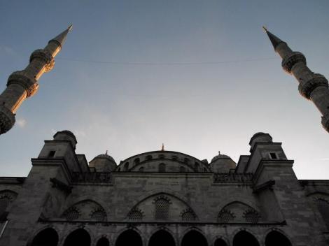 Sultan Ahmed-Moschee [Blaue Moschee]: Hof (2014)