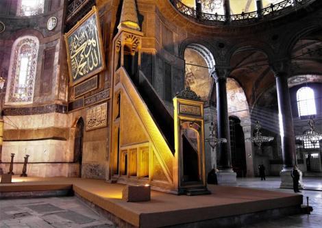Hagia Sophia: Mimbar [Kanzel] (2014)
