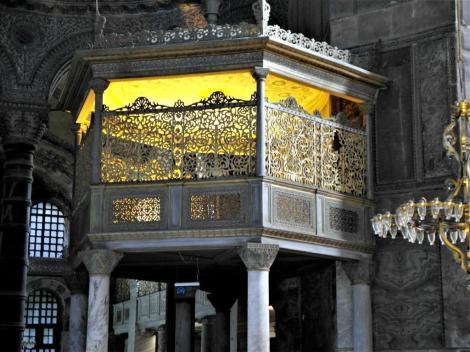 Hagia Sophia: Sultansloge (2014)