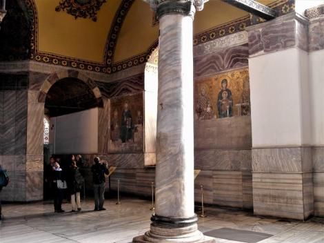 Hagia Sophia: Südgalerie - Blick zu den Kaisermosaiken (2014)