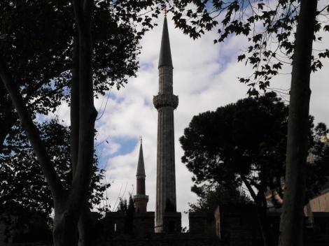Blick zur Hagia Sophia (2014)