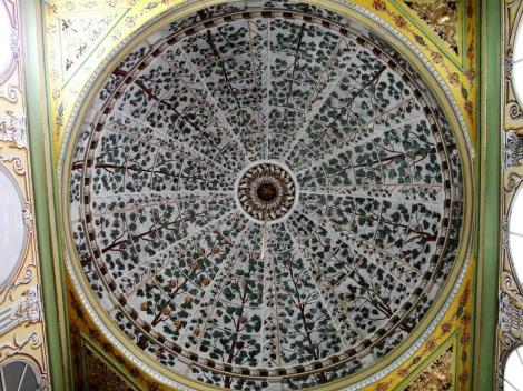Harem: Wohnbereich der Sultansmutter - Kuppel im Speisezimmer (2014)