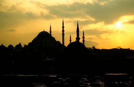 Süleyman-Moschee und Rüstem Pascha-Moschee (1997)