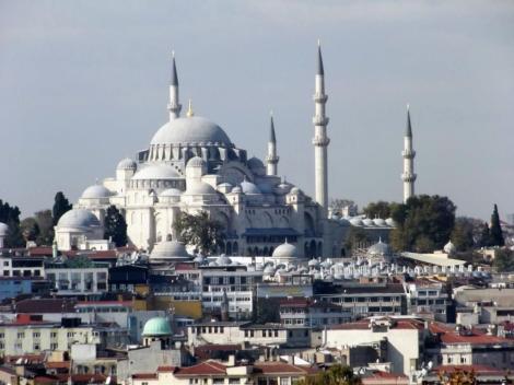 Süleyman-Moschee [Blick vom Topkapi-Palast] (2014)