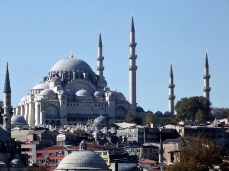 Süleyman-Moschee [Blick von der Galatabrücke] (2014)