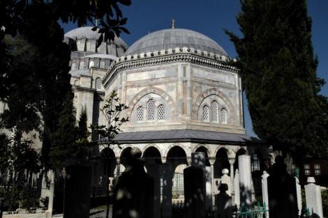Süleyman-Moschee: Süleyman-Türbe (2014)