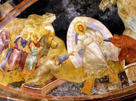 Chora-Kirche: Parekklesion [Seitenkapelle] - Apsis mit Anastasis (2014)