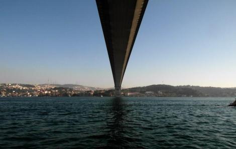 Bosporusbrücke - Blick zur asiatischen Seite (2014)