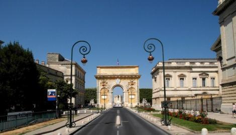 Montpellier: Triumphbogen (2013)
