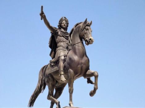 Montpellier: Reiterstatue Ludwigs XIV. (2013)