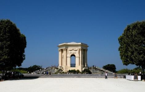 Montpellier: Le Peyrou Wasserschloss (2013)