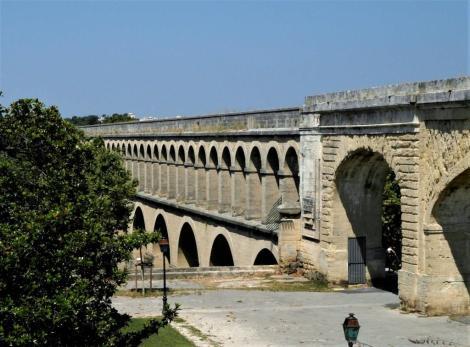 Montpellier: Aquädukt von 1754 (2013)