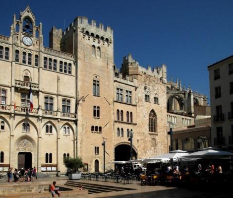 Narbonne: Bischofspalast [Rathaus)] (2013)