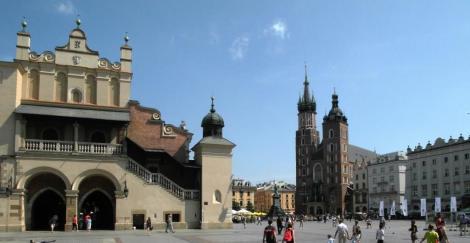 Krakau: Tuchhallen und Marienkirche (2014)